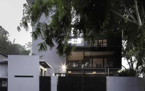 吉隆坡3x3 House独立住宅建筑letou国际米兰下载/CL3思联建筑letou国际米兰下载