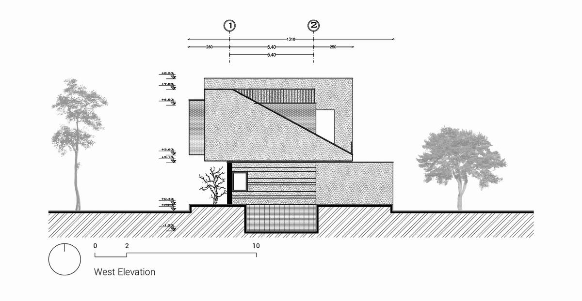伊朗简约独立住宅建筑设计/White Cube Atelier