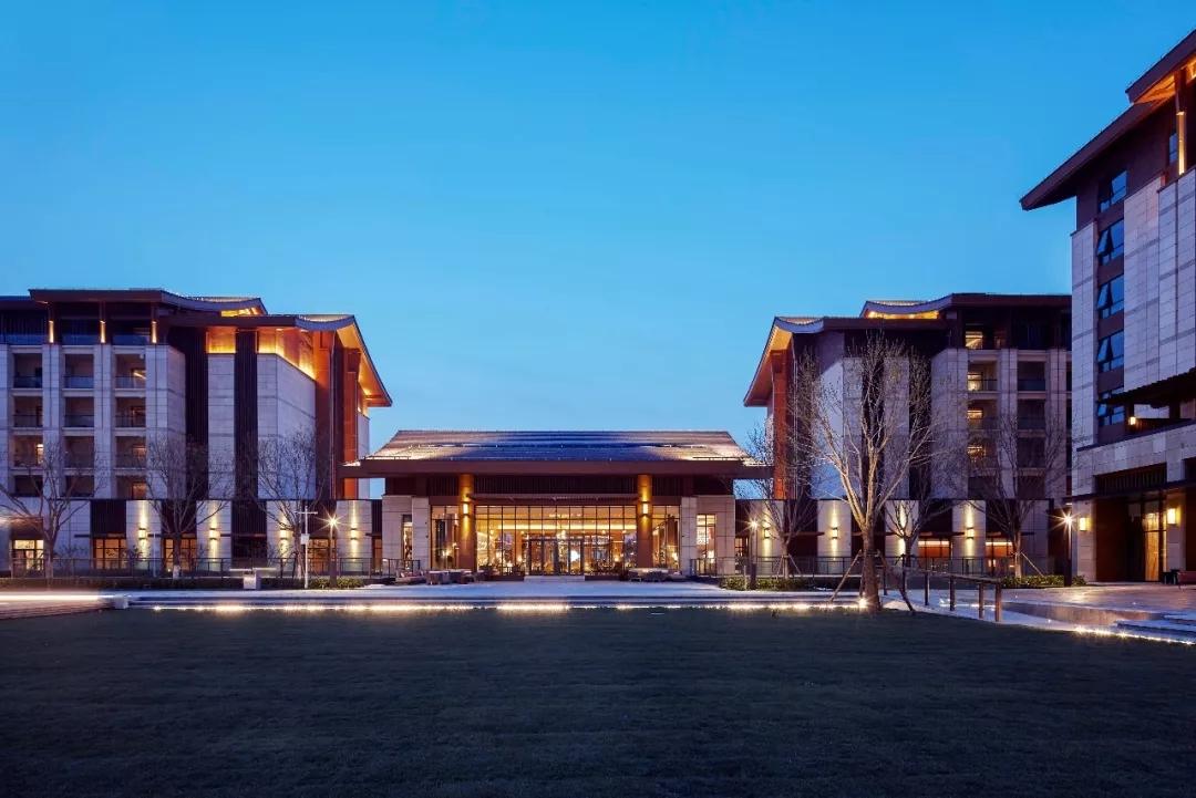 北京世界园艺博览会凯悦及温泉酒店  建筑设计  /  BIAD第一建筑设计院