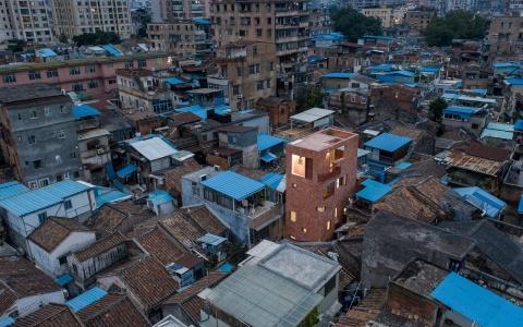 广州历史街区内的极小住宅改造letou国际米兰下载/都市实践