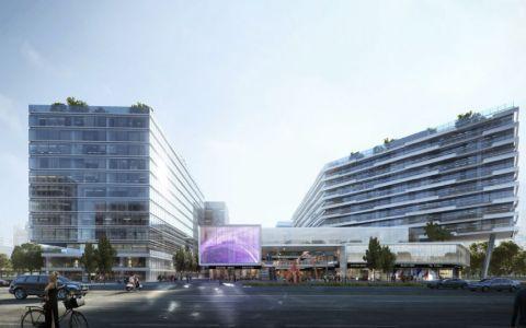 德信·杭州空港城规划建筑letou国际米兰下载/PLAP