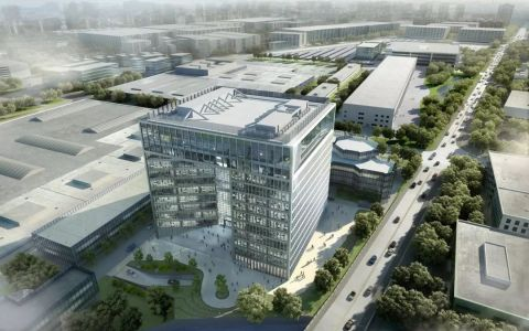 上海国际一线汽车品牌研发综合办公楼letou国际米兰下载/HPP
