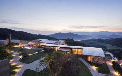 韩国首尔Ananti度假村建筑letou国际米兰下载/SKM Architects