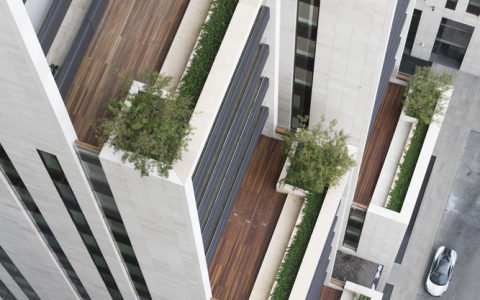 黎巴嫩3Beirut公寓建筑letou国际米兰下载/福斯特建筑事务所