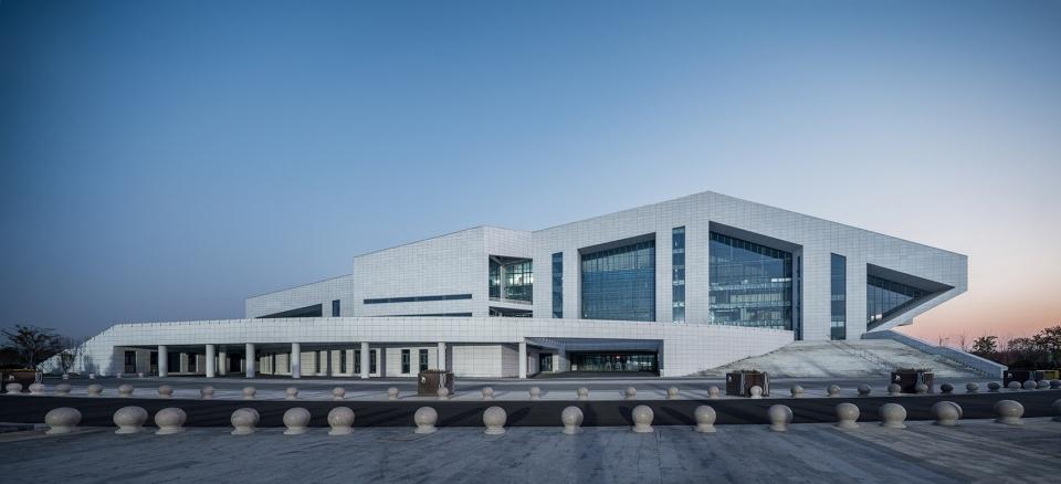 青岛平度奥体中心建筑设计/上海交通大学规划建筑设计有限公司