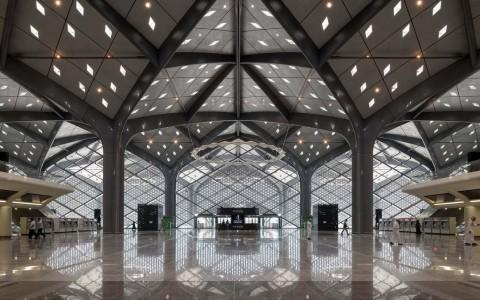 沙特阿拉伯哈拉曼高铁站建筑letou国际米兰下载/福斯特建筑事务所