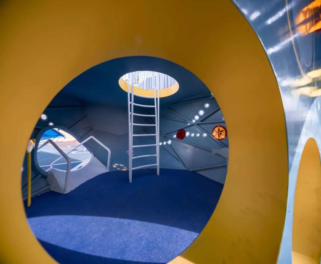 青岛金地自在城鲸鱼主题儿童游乐场设计/安道设计