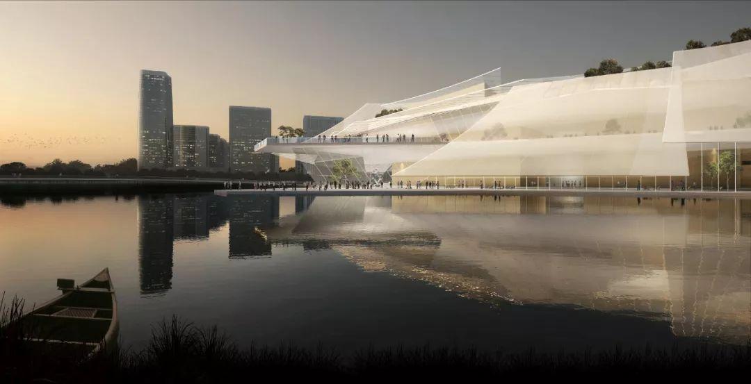 义乌大剧院中标建筑设计方案/MAD