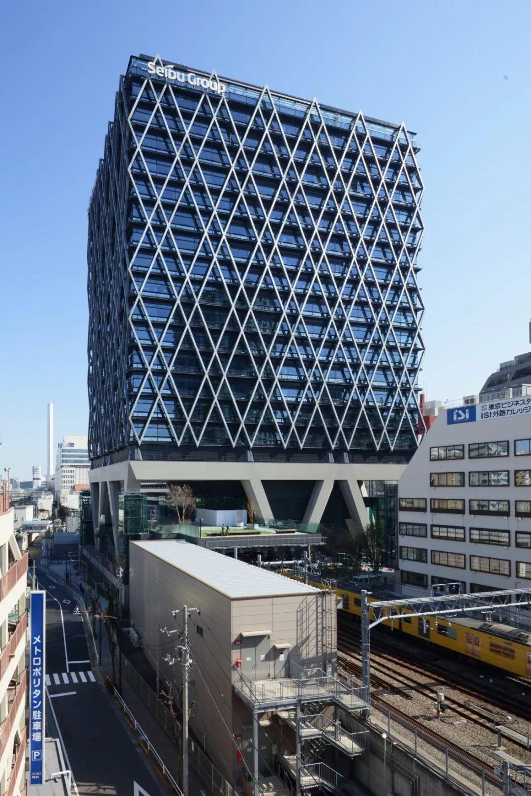 日本东京池袋aiyaGate高层办公建筑设计/日建设计