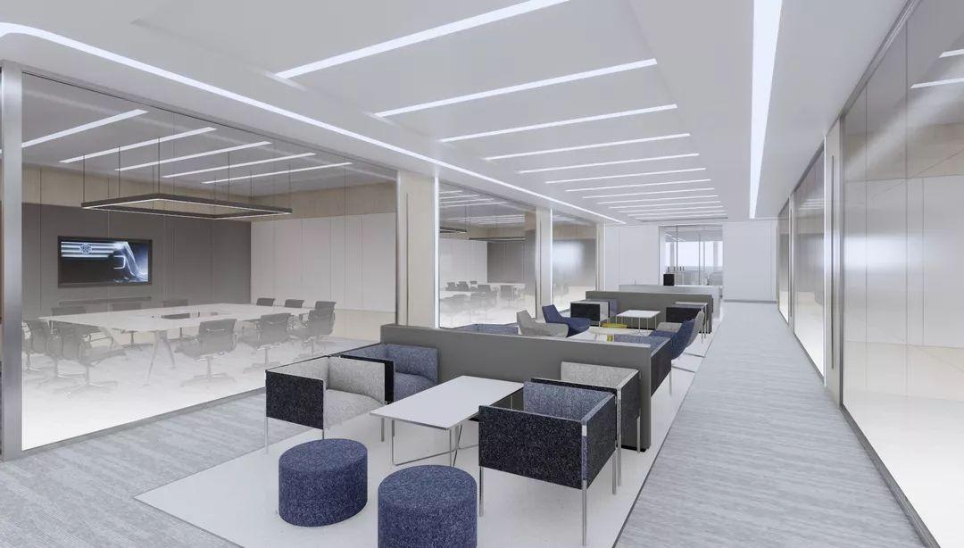 上海国际一线汽车品牌研发综合办公楼设计/HPP