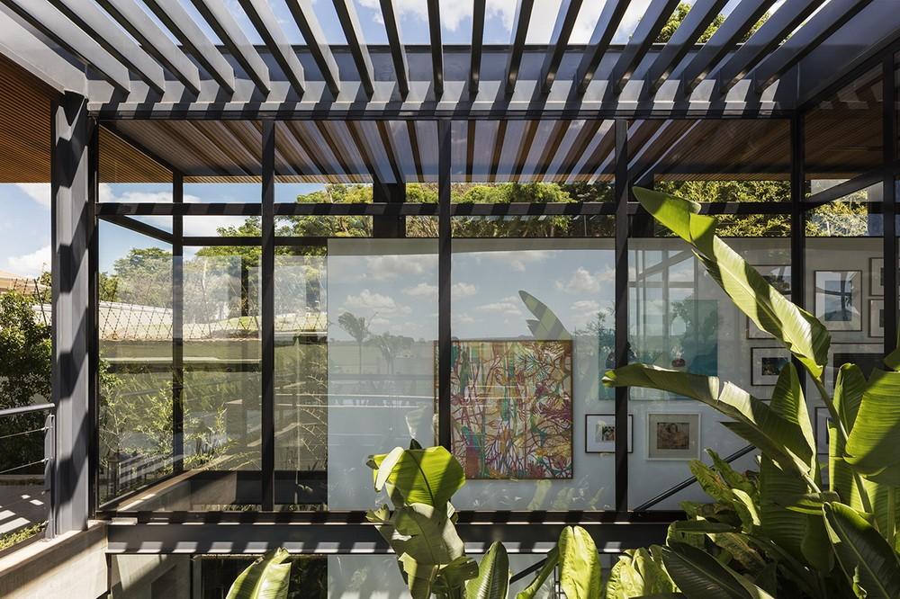巴西圣保罗独立住宅Ribeirão Preto建筑设计/Perkins+Will