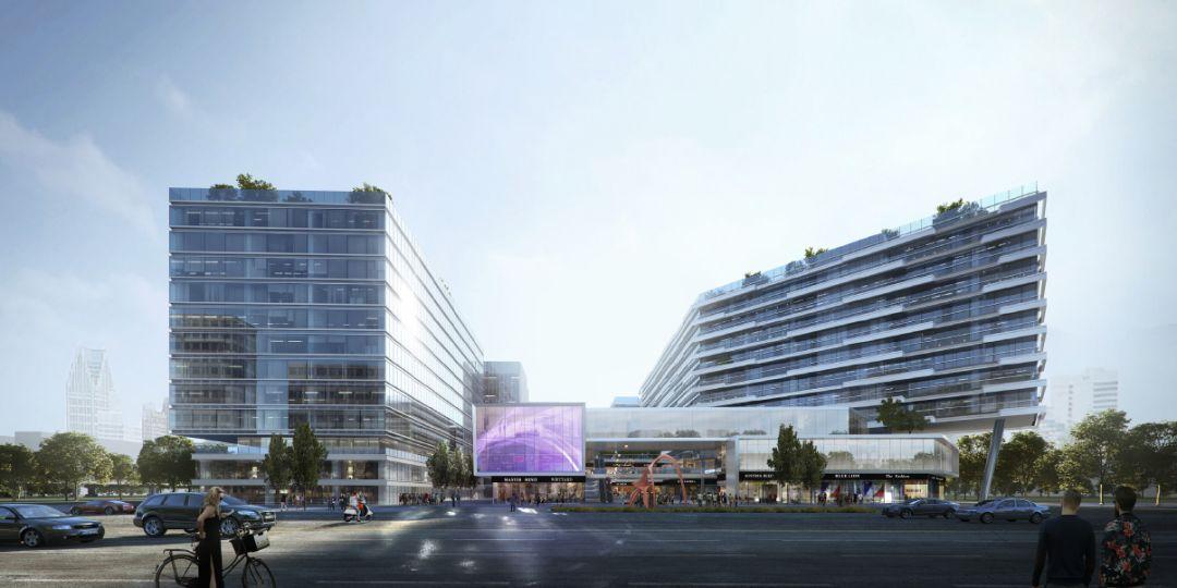 德信·杭州空港城规划建筑设计/PLAP