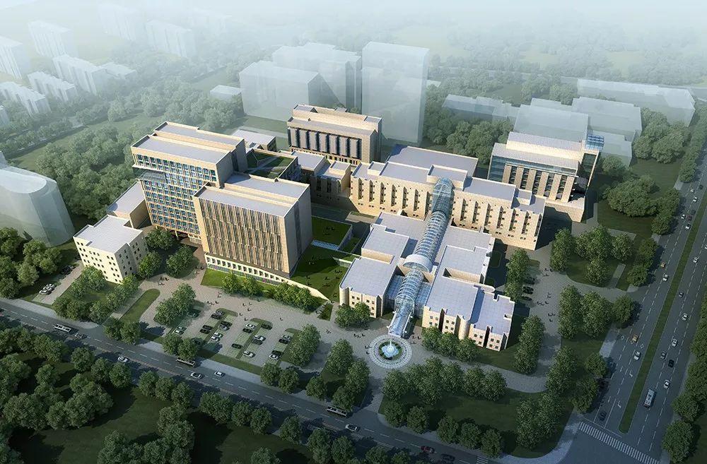 上海儿童医学中心医疗综合楼建筑设计/筑博设计