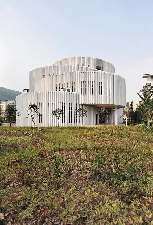 四川雅安小学图书馆建筑设计/深圳市局内设计咨询有限公司