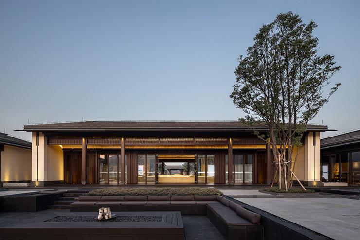 江门保利云上西棠销售中心及湿地接待中心/伶居设计