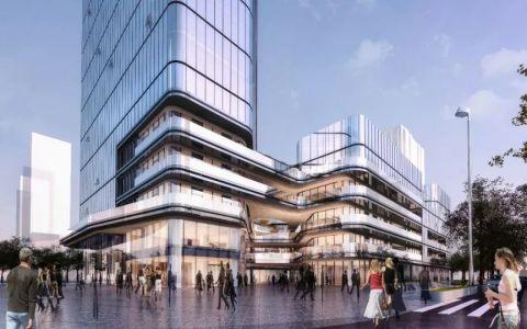 西安未央国际商业综合体项目建筑letou国际米兰下载/DU建筑