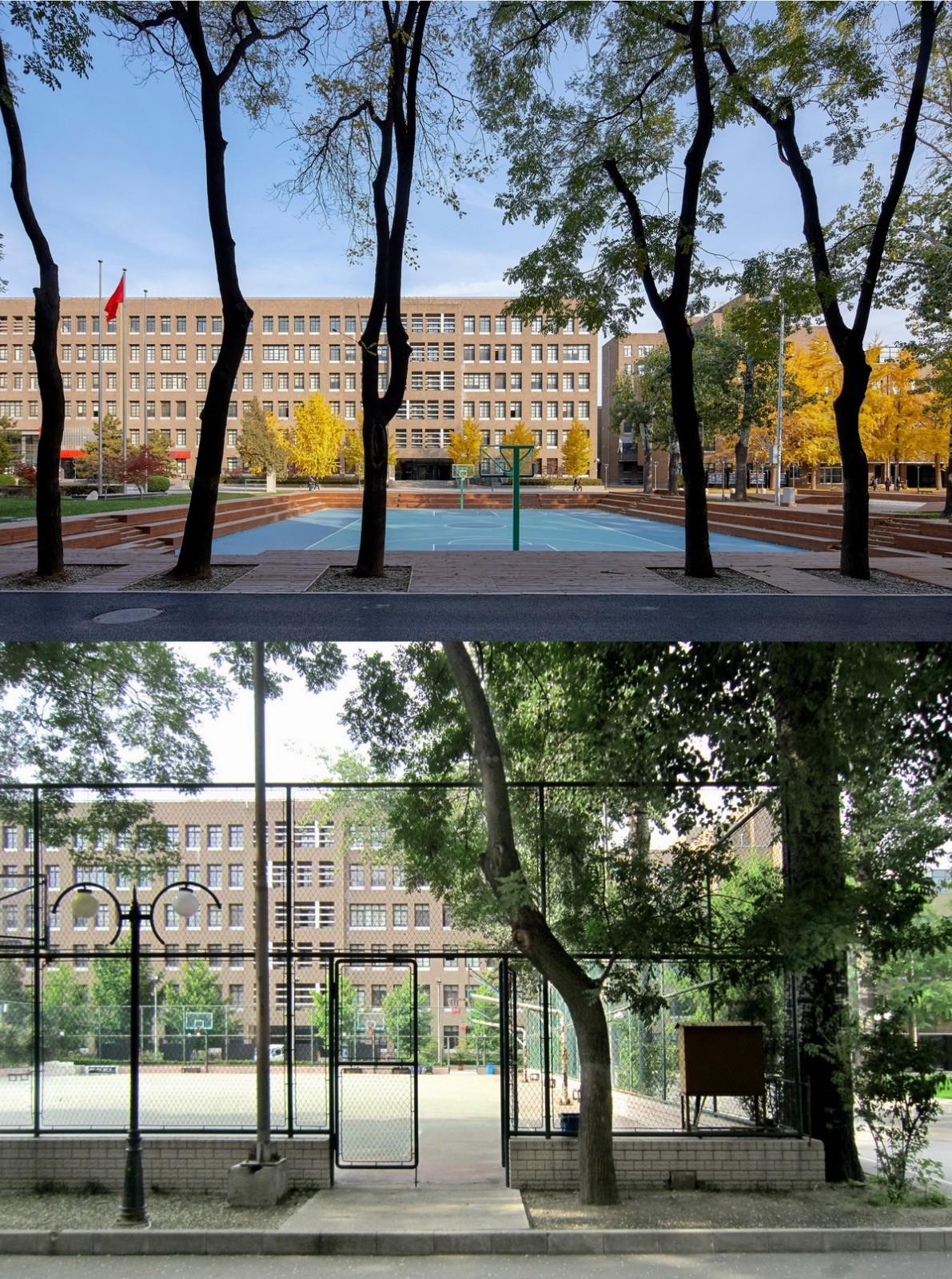 北大附中及朝阳未来学校校园景观改造设计/Crossboundaries