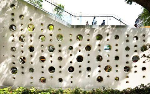 新加坡'Design Orchard'办公孵化器建筑letou国际米兰下载/WOHA