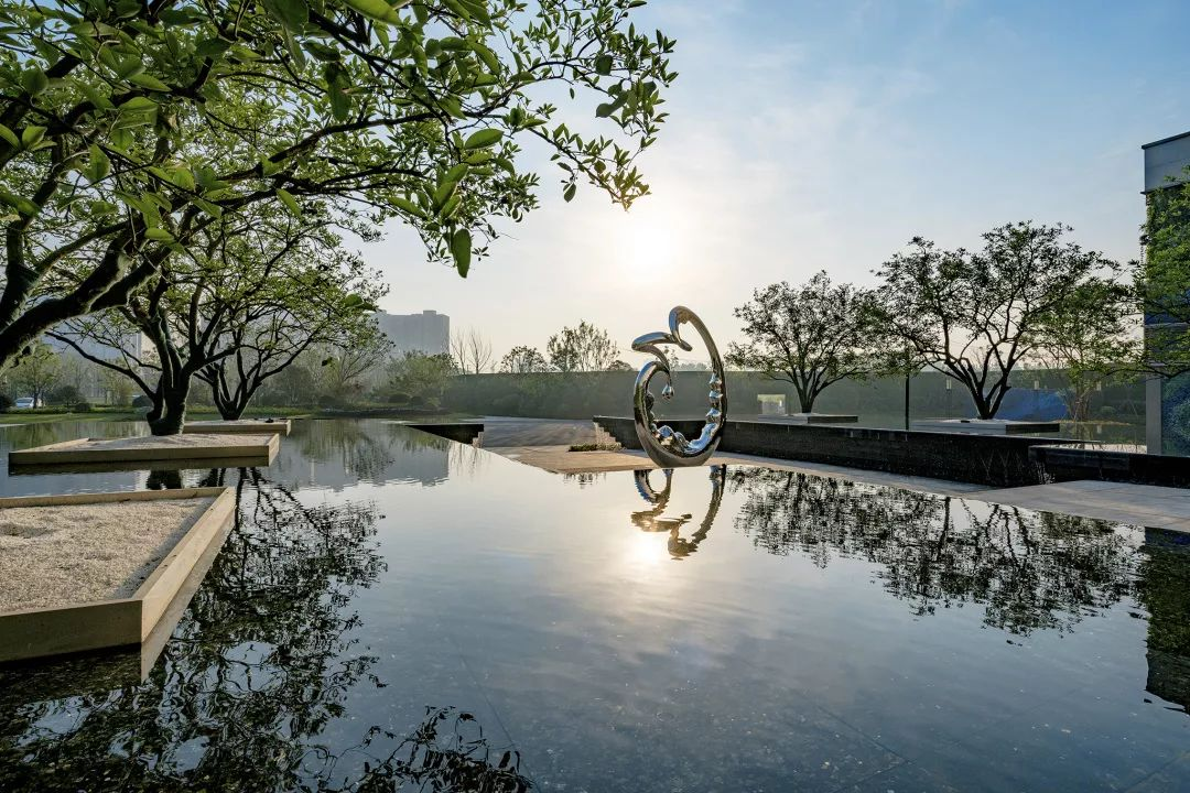 武汉景瑞·天赋滨江示范区景观设计/魏玛景观