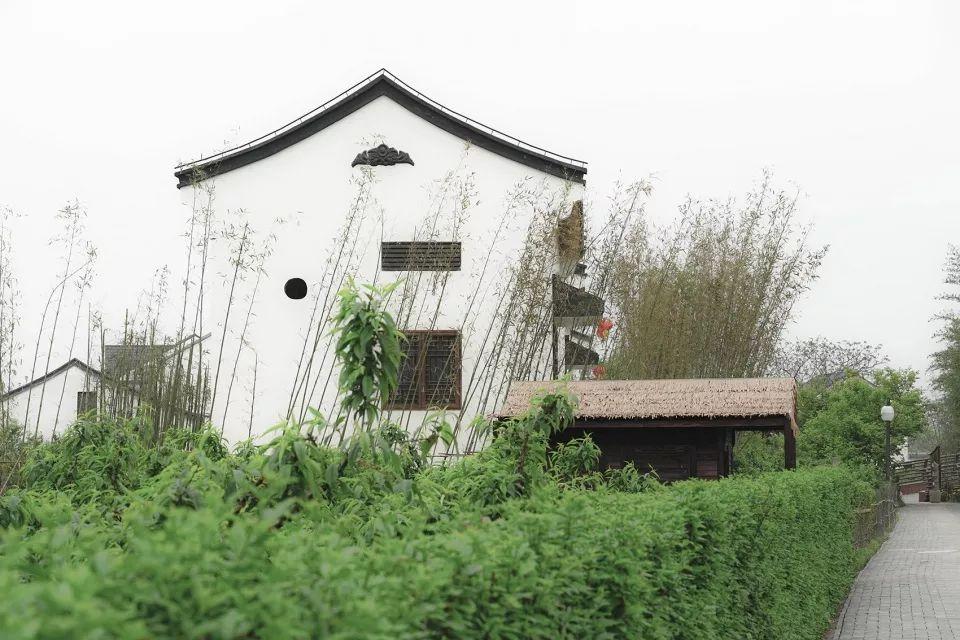 """上海""""乡村振兴示范村""""吴房村规划建筑设计/中国美术学院风景建筑设计研究总院"""