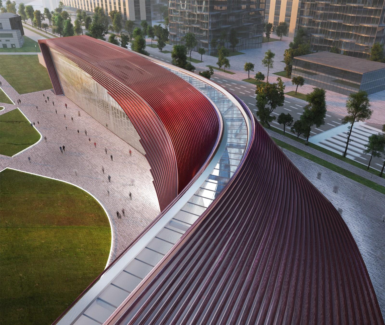 韩国国立世界文学博物馆竞赛建筑方案设计/ATIproject