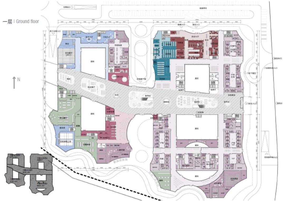 复旦妇产科医院建筑设计/BAU