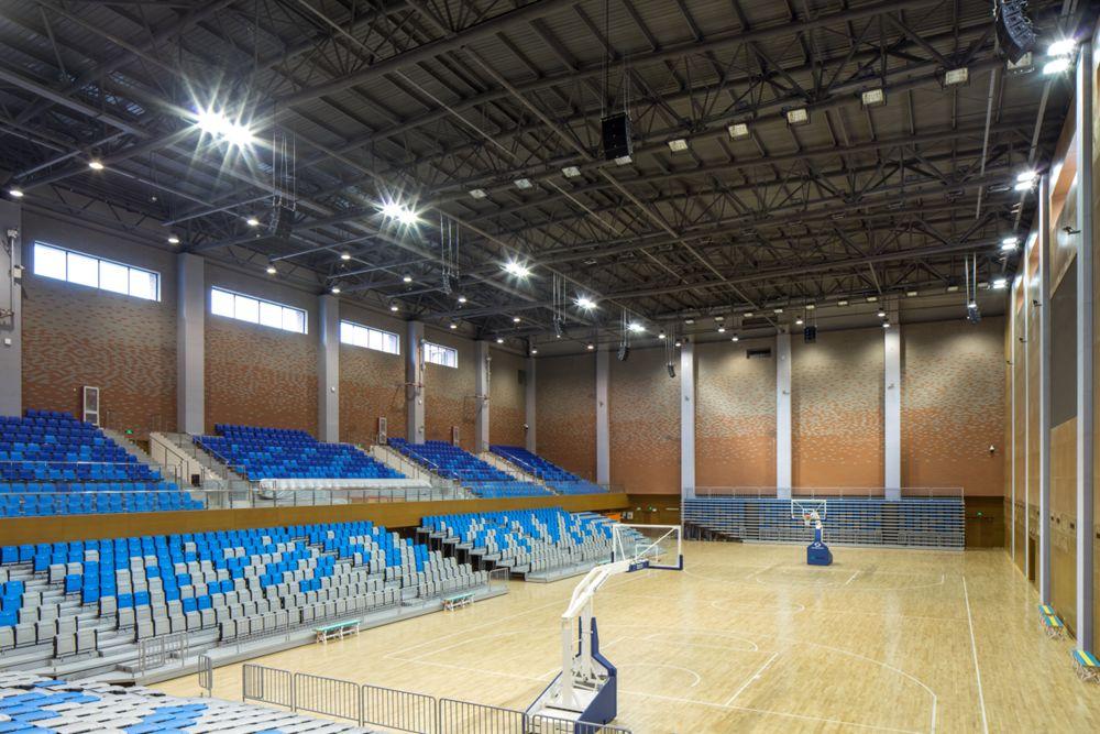 南开大学津南校区体育馆建筑设计/同济设计