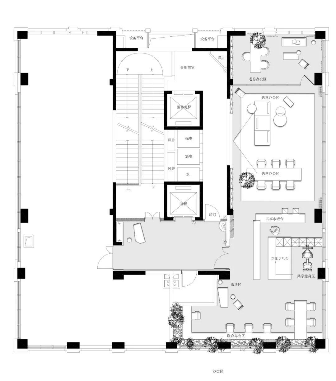 上海龙湖·星图美学展示中心样板间室内设计/BDD筑详设计机构