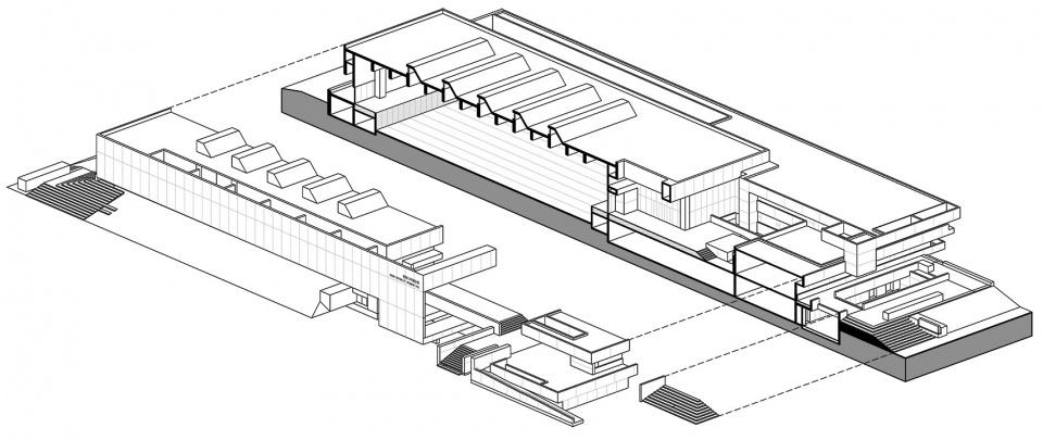 长沙湖南大学天马新校区建筑设计/地方工作室