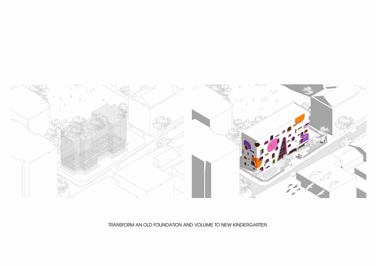 越南胡志明市精英幼儿园建筑设计/KIENTRUC O