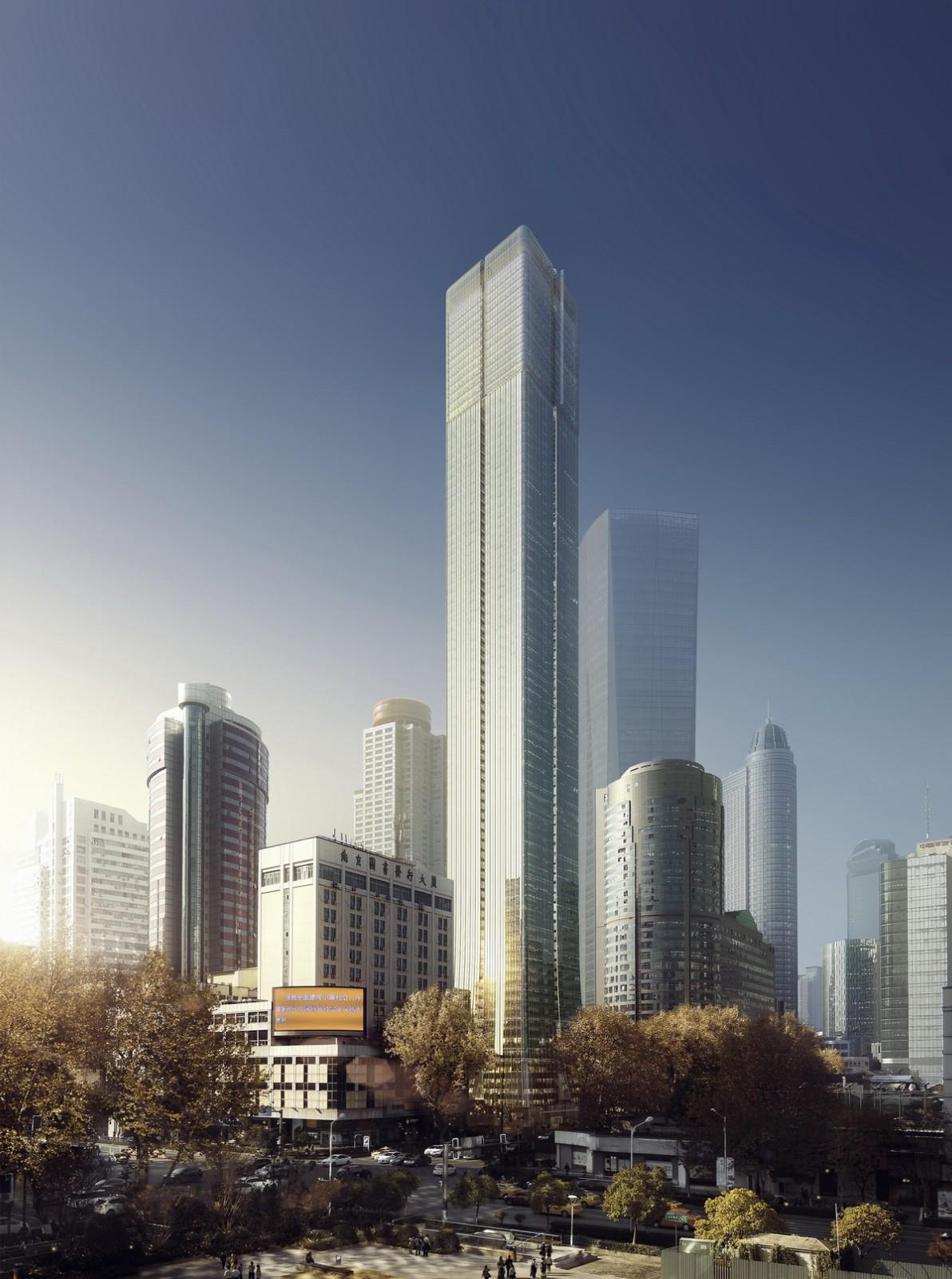 南京新街口苏宁广场建筑设计/Aedas