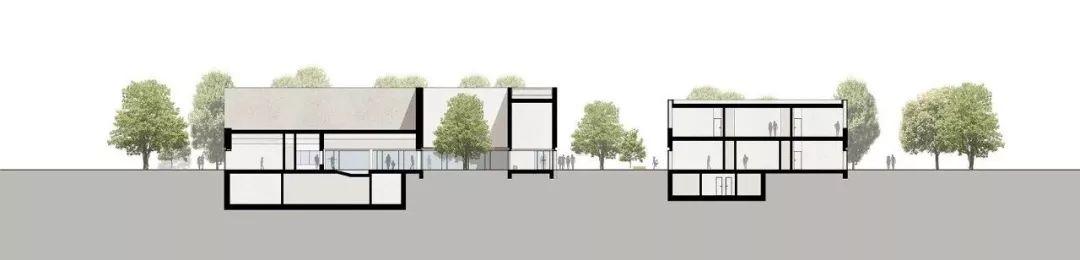 莱比锡东游泳馆建筑设计竞赛一等奖/gmp
