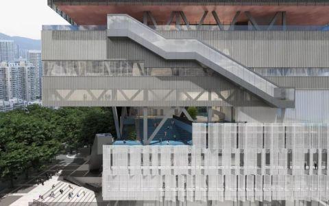 深圳粤海街道文体中心建筑letou国际米兰下载/URBANUS都市实践
