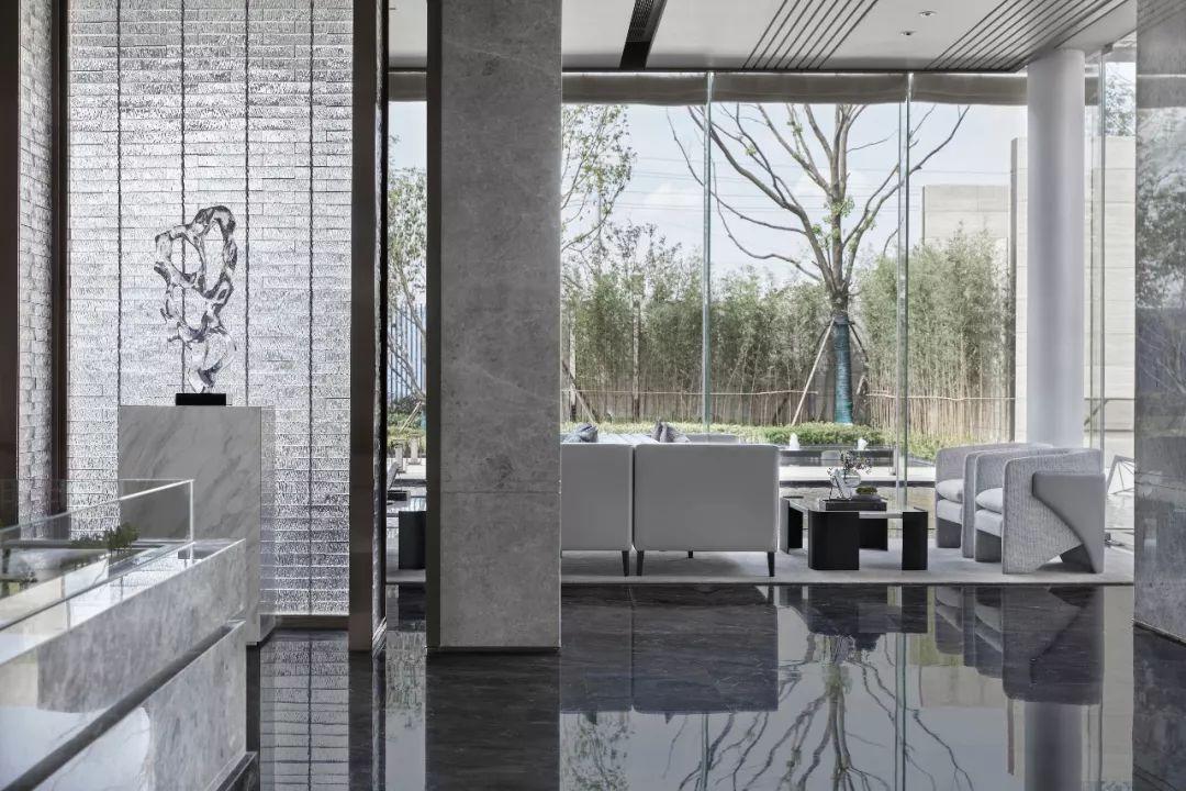 华润武汉梧桐湖售楼处室内设计/易和新作