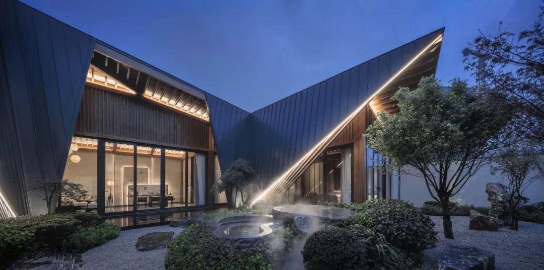 福州首开国仕府温泉会馆建筑设计/成执设计