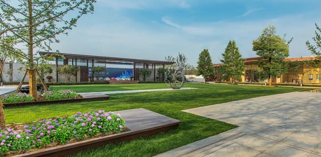 绿地宿迁高铁商务区项目体验区景观设计
