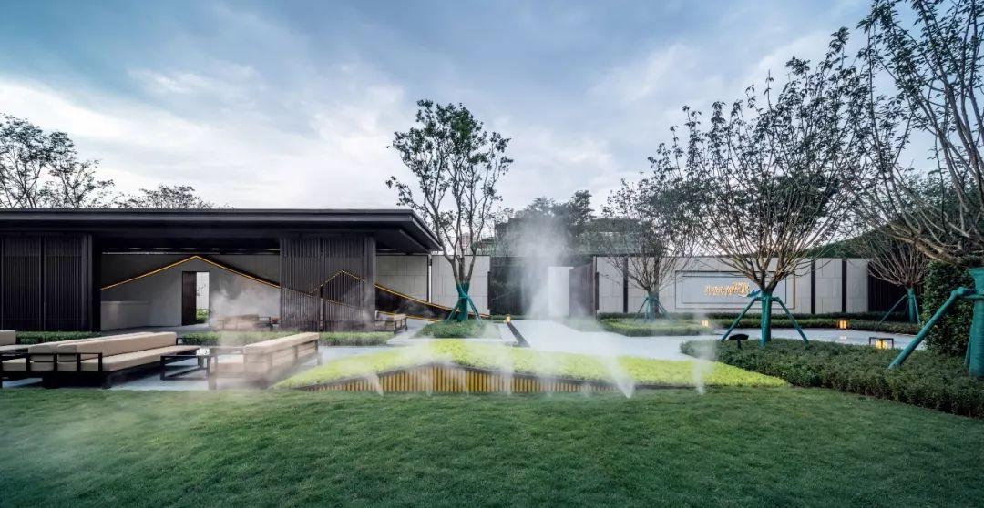 重庆中央公园雅居乐·富春山居二期展示区景观设计/致澜景观