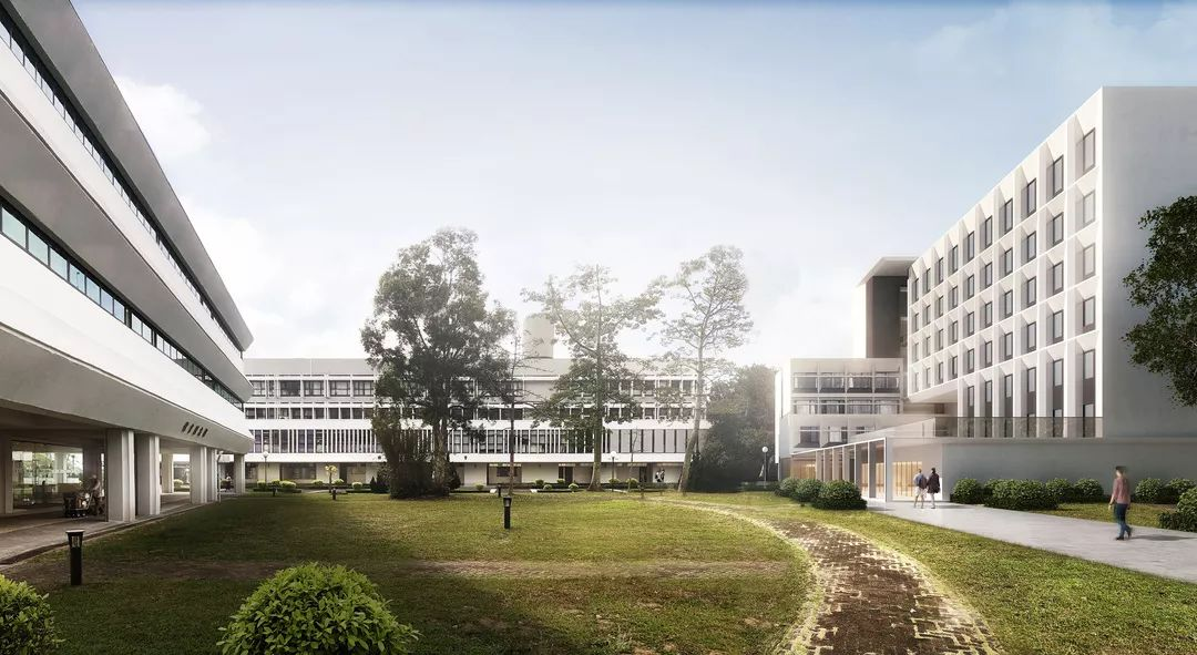 香港中文大学联合书院宿舍楼竞赛方案设计/汇创国际