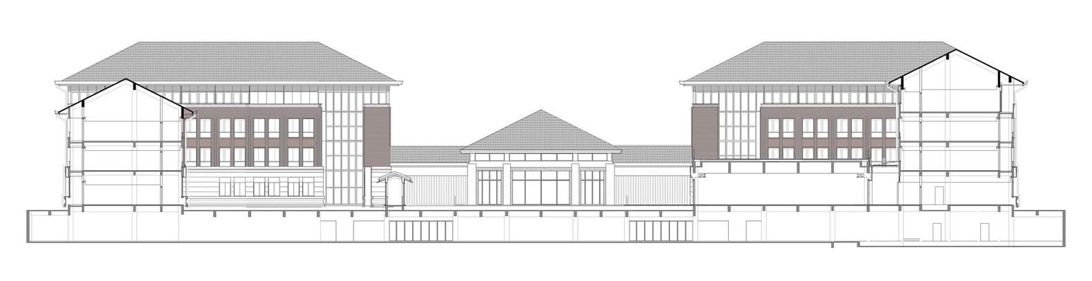 浙江大学国际联合学院(海宁国际校区)西区书院建筑设计/浙江大学建筑设计研究院