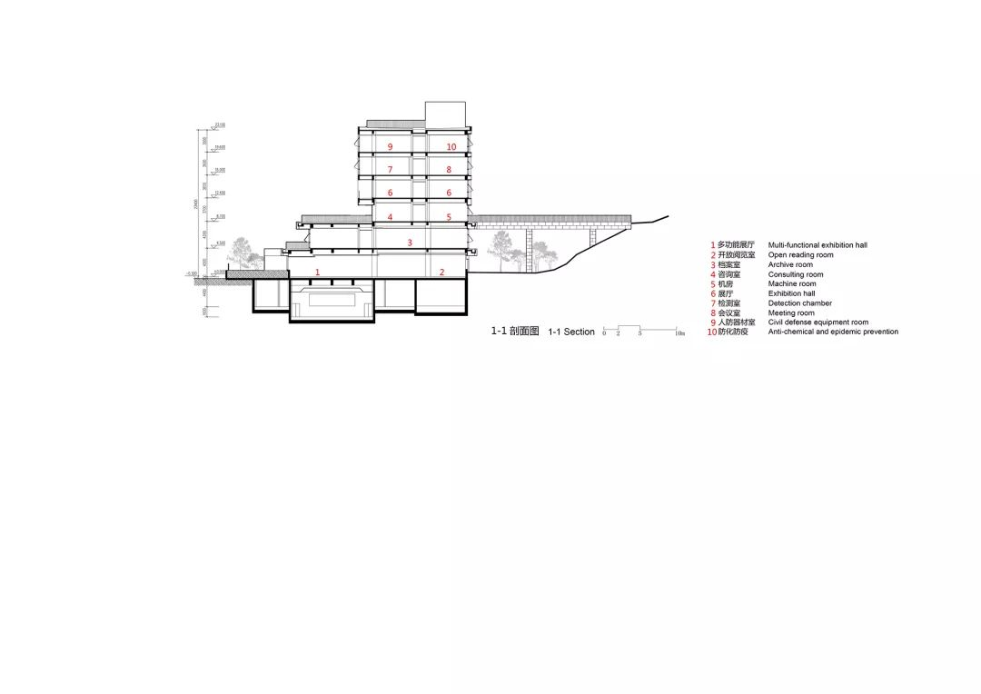 浙江开化县1101工程及城市档案馆建筑设计/浙江大学建筑设计研究院