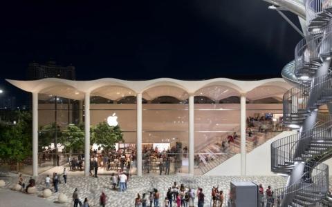 迈阿密苹果旗舰店建筑letou国际米兰下载/Foster + Partners