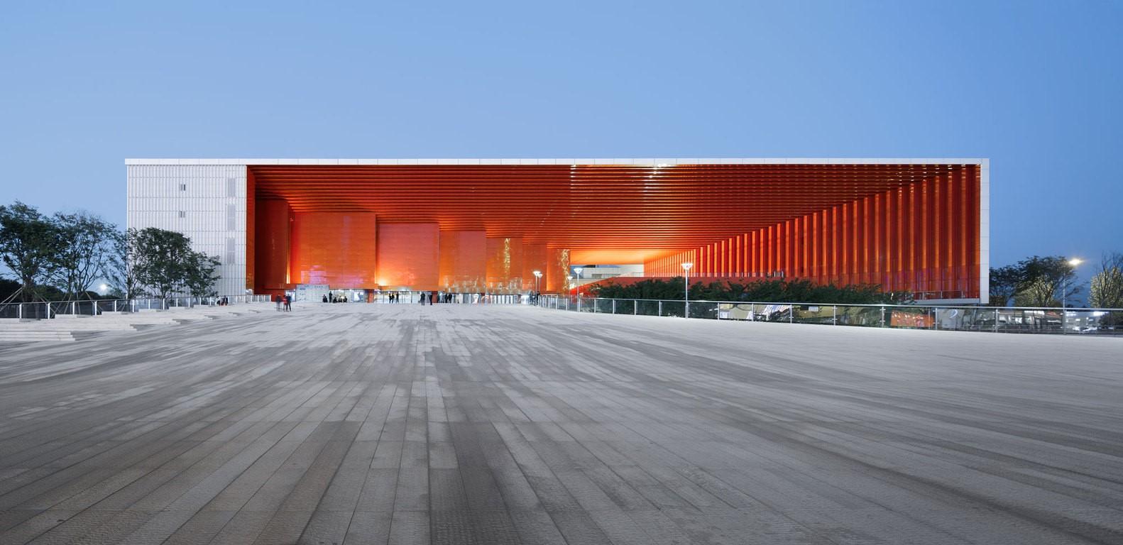 浙江义乌市文化广场建筑设计/UAD浙大设计院