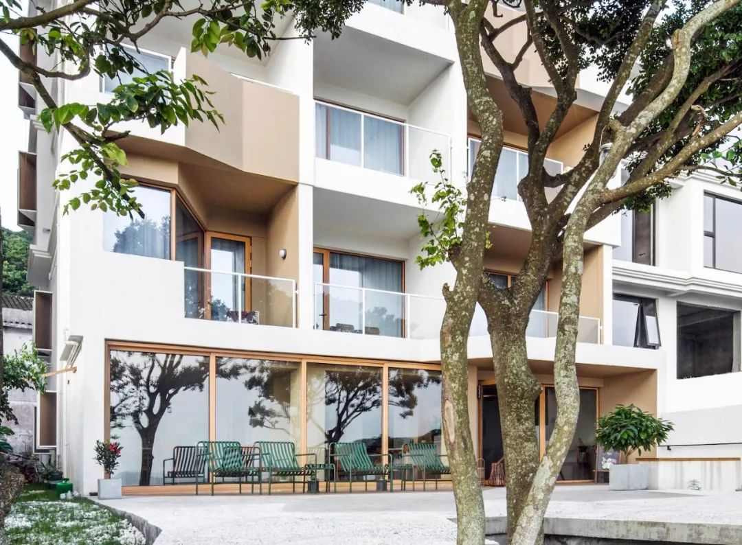 舟山海街11号民宿酒店建筑设计/MAT 超级建筑事务所