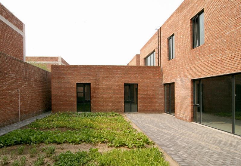 北京宋庄艺术家工作室建筑设计/Knowspace