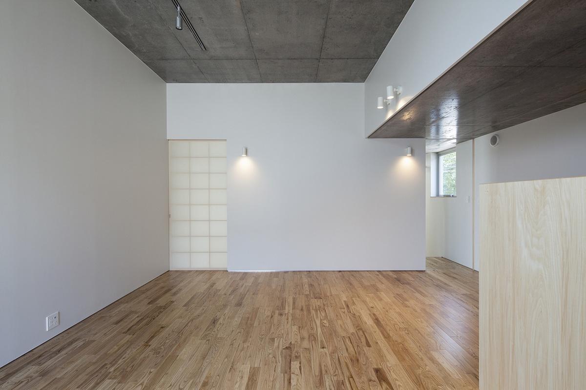日本清水混凝土独立住宅立川住宅建筑设计/竹山圣 + AMORPHE