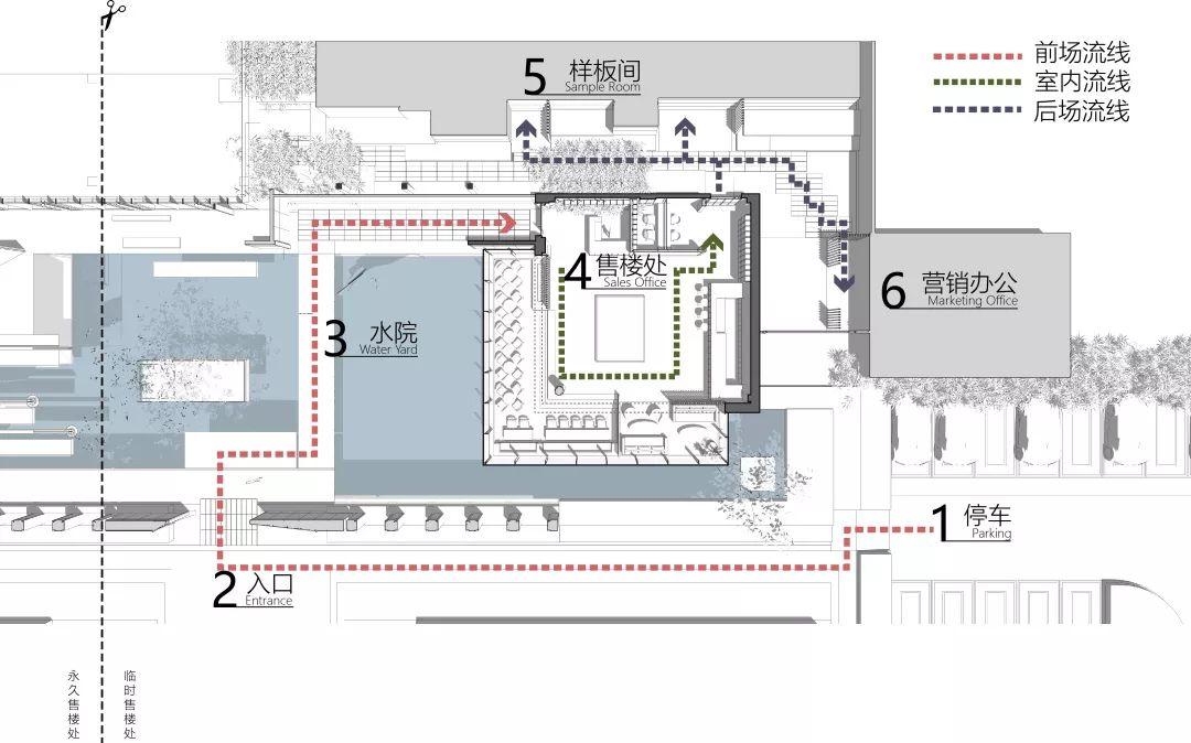 南京金地都会四季售楼处建筑设计/致逸设计