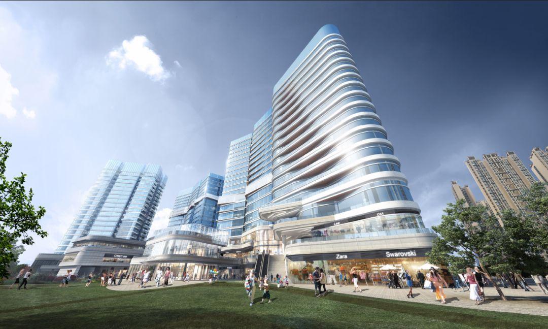 成都北大资源总部办公大楼建筑设计/Aedas