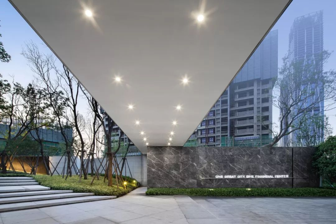 长沙卓越中寰展示区景观设计/奥雅设计