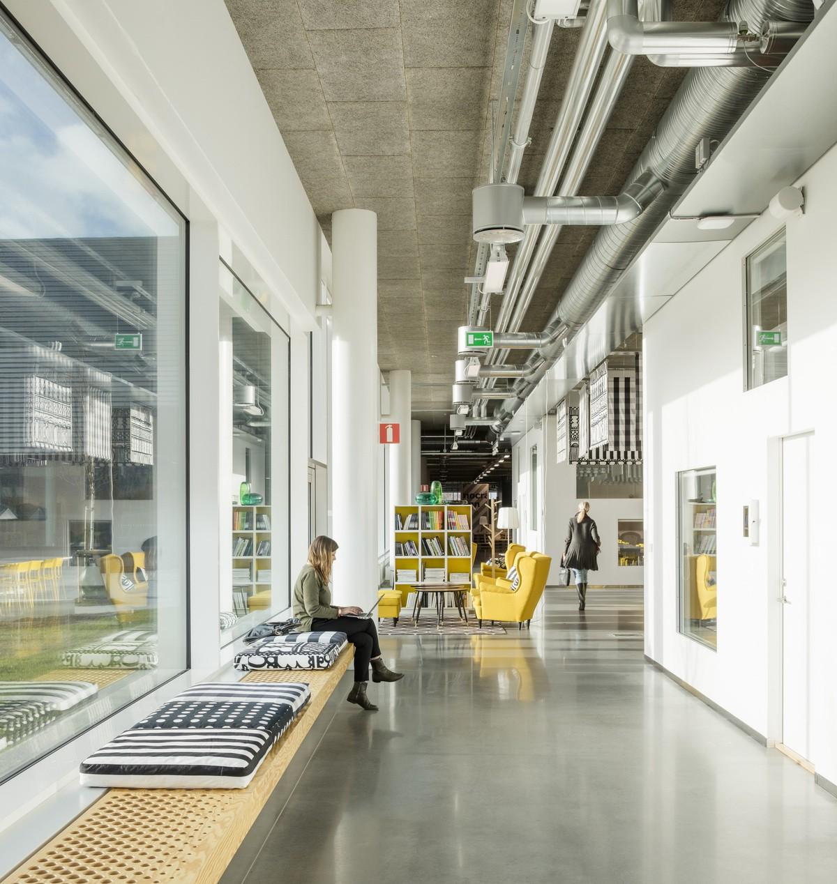 瑞典宜家 HUBHULT 总部办公楼建筑设计/ Dorte Mandrup A/S