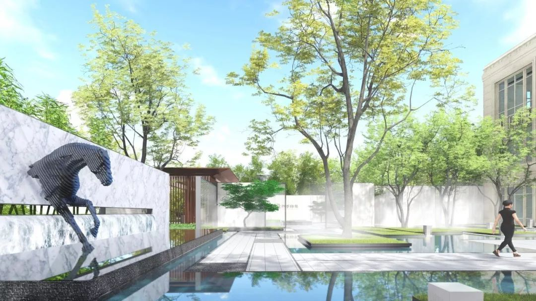 江苏绿地·四季印象景观设计/红杉国际